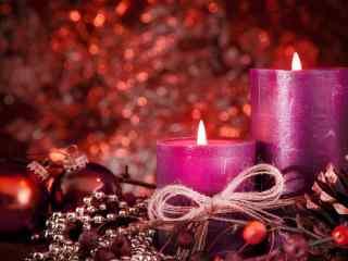 好看的圣诞节装饰礼品桌面壁纸