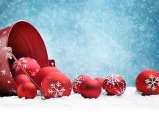 好看的圣诞节装饰品桌面壁纸