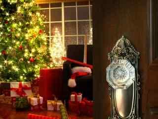唯美圣诞节节日图片桌面壁纸