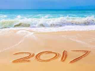 2017年新年图片创意小清新桌面壁纸