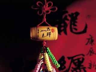 文艺的新年中国结图片壁纸
