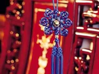 好看的新年中国结图片