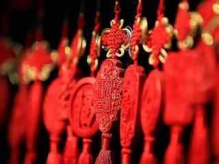 红色喜庆的中国结图片