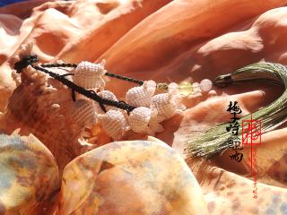 唯美中国结版铃兰高清图片