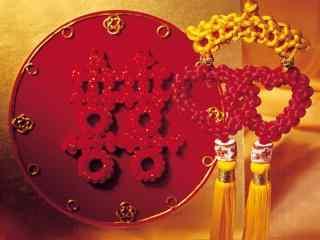 新年喜庆的中国结图片