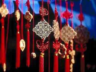 多样的新年中国结图片壁纸