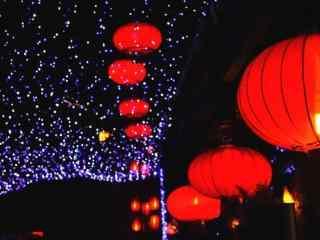 喜庆过新年红灯笼图片