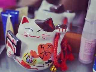 超可爱日本招财猫