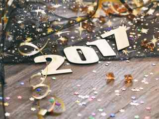 2017新年数字图片