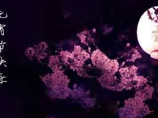 唯美樱花图片自制元宵节壁纸