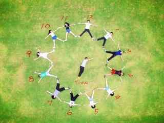 五四青年节创意素材图片