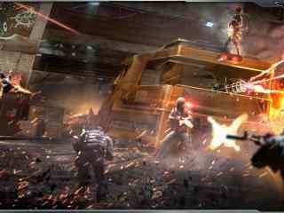 《逆战》之游戏战斗场景桌面壁纸