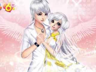 QQ炫舞之浪漫情侣桌面壁纸