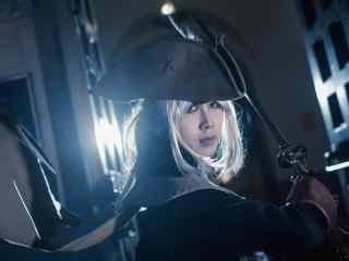 星辰钟塔玛利亚精美cosplay图片 血源诅咒壁纸
