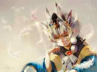 阴阳师手游游戏壁纸之可爱的童男式神