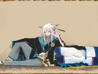 阴阳师妖狐同人图游戏壁纸