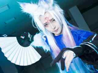 帅气的阴阳师妖狐cosplay壁纸