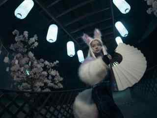 阴阳师妖狐cosplay图片壁纸