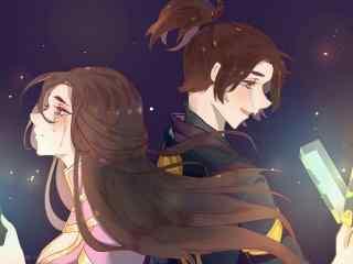 王者荣耀唯美至尊宝紫霞仙子壁纸
