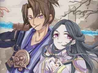 王者荣耀情人节限定至尊宝和紫霞仙子壁纸