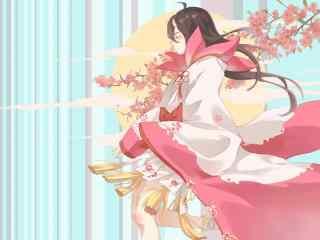 阴阳师桃花妖唯美壁纸
