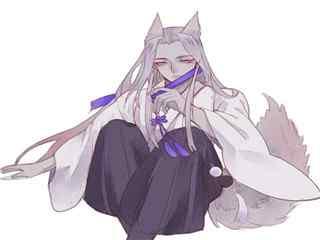 阴阳师妖狐唯美头像图片
