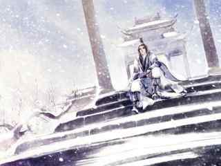 剑网三纯阳道长唯美桌面壁纸