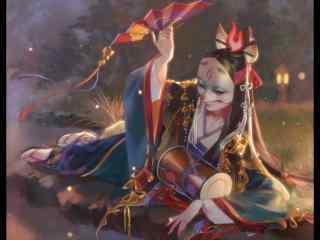 阴阳师玉藻前图片壁纸