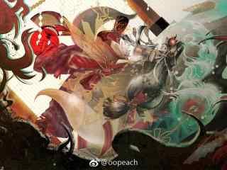 阴阳师玉藻前海报桌面壁纸