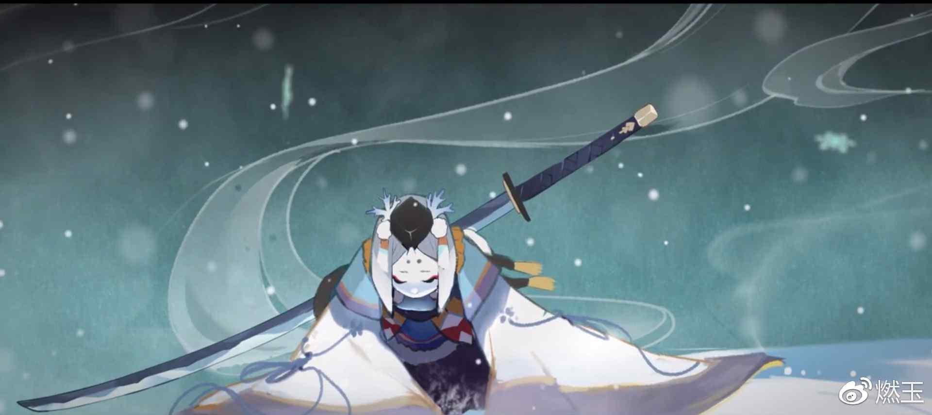 阴阳师雪童子绘卷图片壁纸