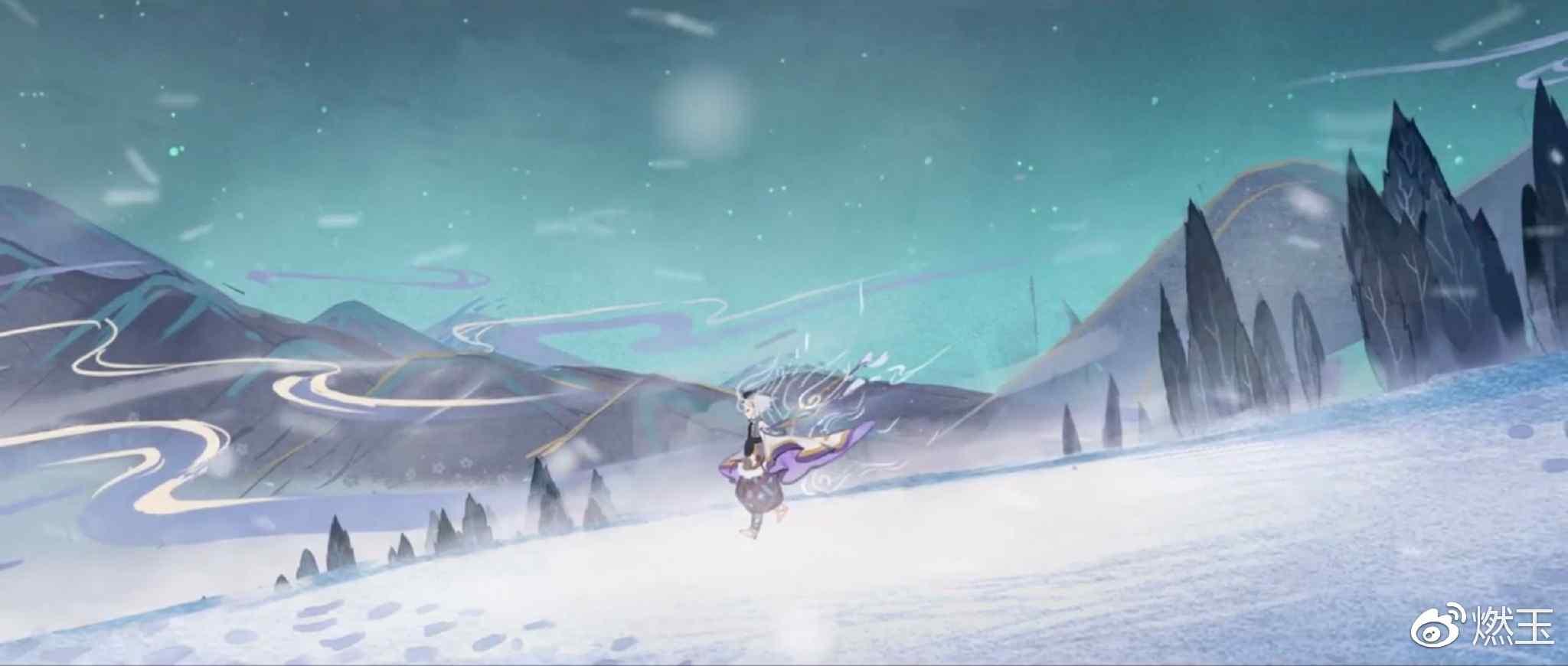 阴阳师雪童子绘卷剧照壁纸