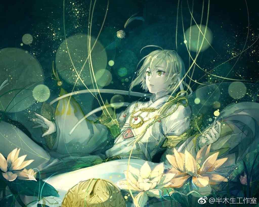 梦间集金铃索唯美手绘壁纸