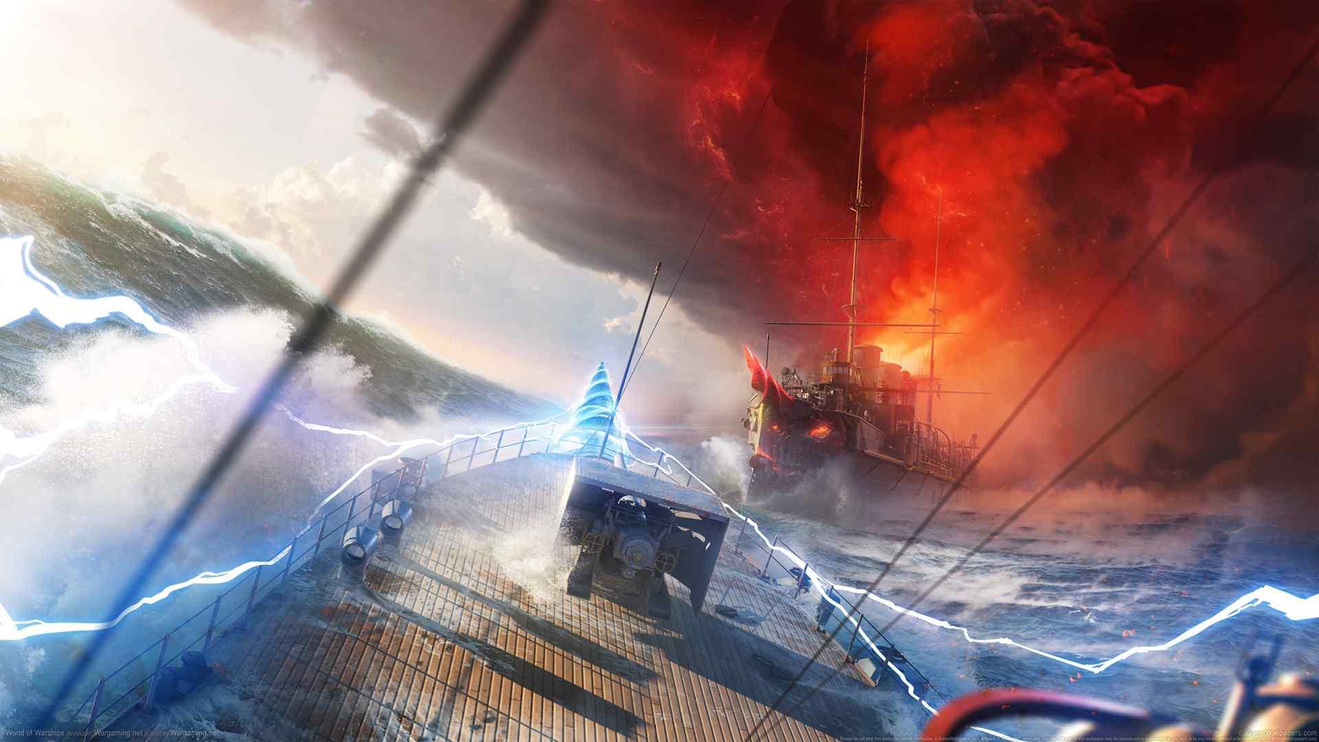 战舰世界2k壁纸游戏壁纸海上战争壁纸