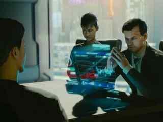 賽博朋克(ke)2077高清游戲桌面壁紙