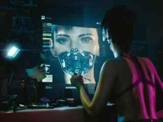 賽博朋克2077高清游戲截圖桌面壁紙