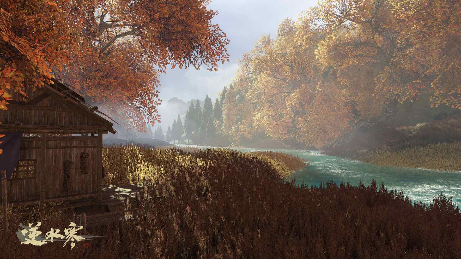 逆水寒高清风景原画游戏图片