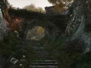 網易逆水寒橋洞風景游戲圖片