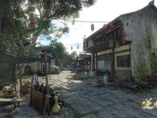 逆水寒街道超清唯美游戏图片