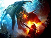 怪物猎人世界雌火龙游戏原画高清壁纸
