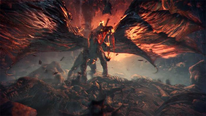 怪物猎人世界尸套龙精美截图壁纸图片