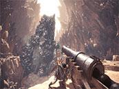 怪物猎人世界阻击熔山龙精美截图