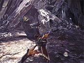 怪物獵人世界狩獵巖賊龍精美截圖壁紙