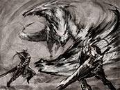 怪物猎人世界迅龙帅气高清壁纸