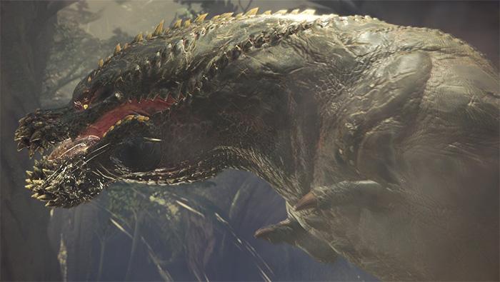 怪物猎人世界恐暴龙精美截图壁纸图片