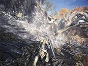 怪物獵人世界被水淹沒的雌火龍精美截圖