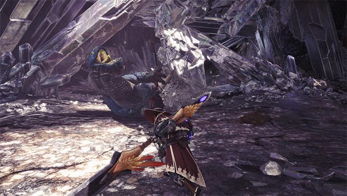 怪物猎人世界狩猎岩贼龙精美截图壁纸