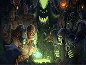 魔兽世界炉石对战高清桌面壁纸