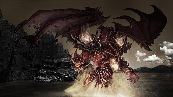 魔兽世界恶魔猎手高清壁纸