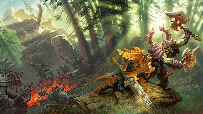 魔兽世界部落和联盟的战争高清壁纸图片