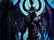 魔兽世界恶魔猎手伊利丹怒风电脑桌面高清壁纸